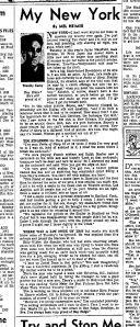 Tim's interview with Mel Heimer, 1958