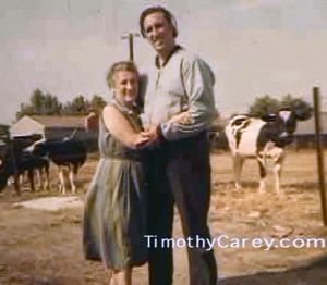 Timothy and his mother, Ida Agoglia Carey