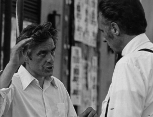 Cassavetes directing Timothy in The Killing of a Chinese Bookie