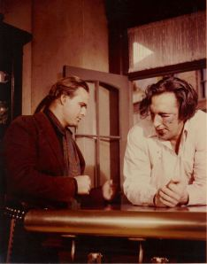 Brando and Tim on the One-Eyed Jacks set