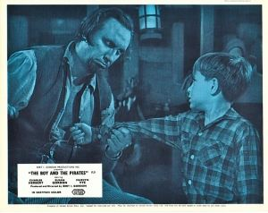 The Boy and the Pirates British lobby card/still