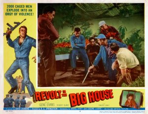 Revolt in the Big House lobby card