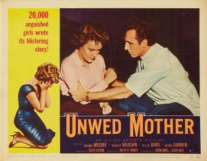 Unwed Mother lobby card