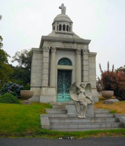 The Agoglia family crypt, Green-Wood Cemetery, Brooklyn NY