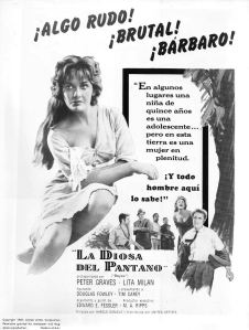 Spanish poster for Bayou