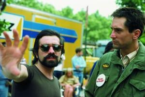 Scorsese directing DeNiro in Taxi Driver