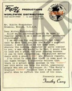 Letter to Nikita
