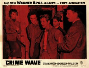 Crime Wave lobby card